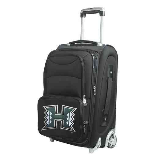 CLHIL203: NCAA Hawaii Warriors  Carry-On  Rllng Sftsd Nyln